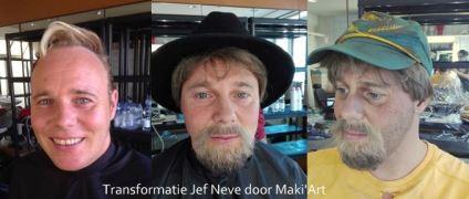 Theatergrime - Transformatie Jef Neve