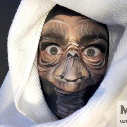 Facepaint - alien