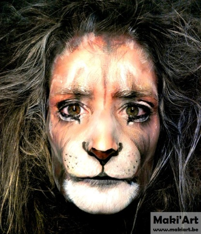 Facepaint - leeuw