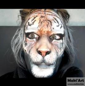 Facepaint - tijger